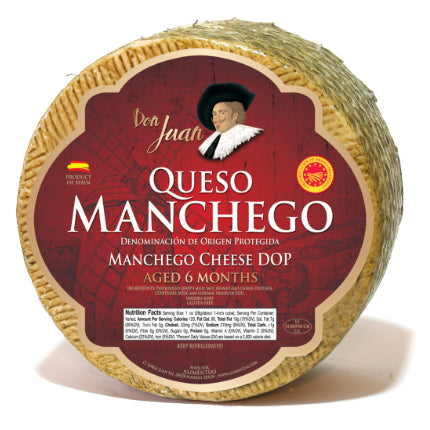 Don Juan Aged Manchego Cheese - Hardie's Direct, Dallas TX