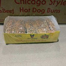 Load image into Gallery viewer, Hot Dog Buns Poppy Seed, 10 ct - Hardie's Direct Dallas, TX