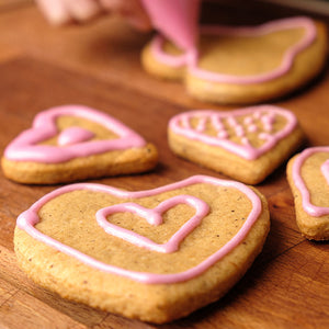Homestead Gristmill Gingerbread Spice Cookies for Valentine's Day - Hardie's Direct, Dallas TX