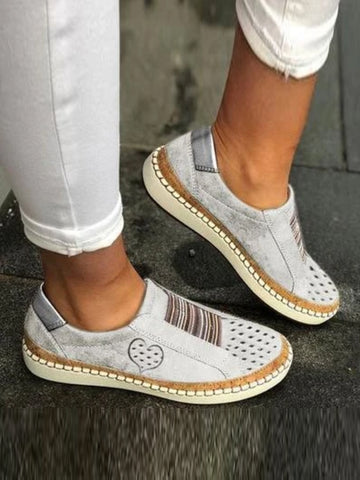 Spring Casual Well-Ventilated Flat Sneakers