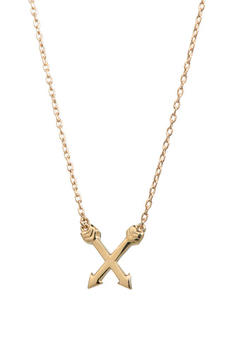 Crossed Arrows Pendant