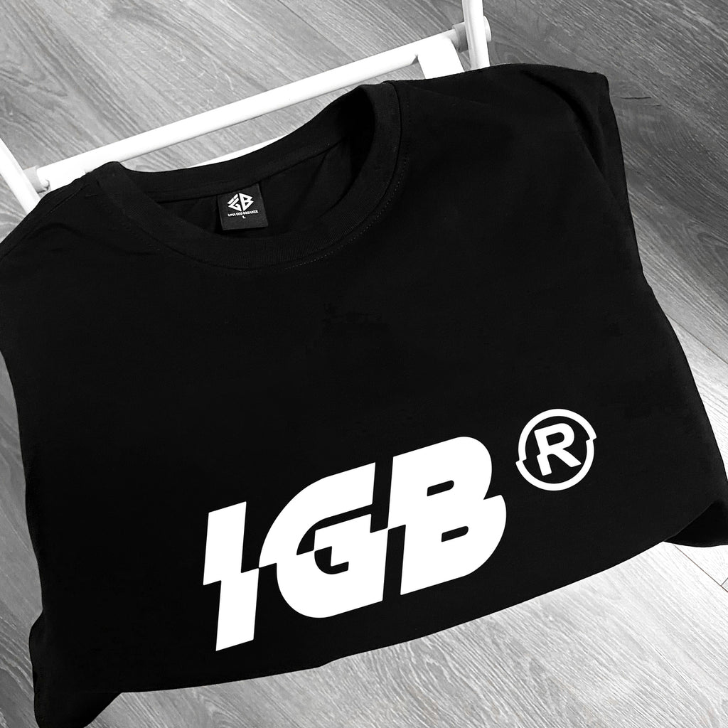 iGB Text Basic Tee - Áo Thun Basic Local Brand iMA God Breaker