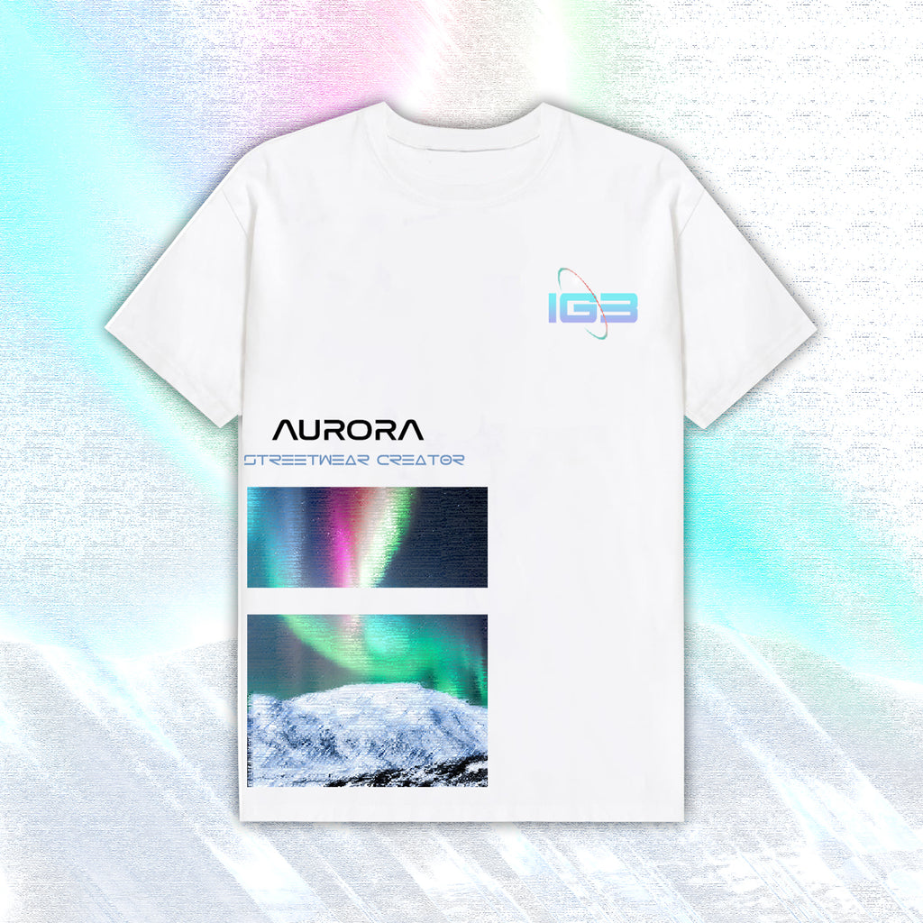 iGB Aurora Tee - Áo Thun Aurora Local Brand iMA God Breaker