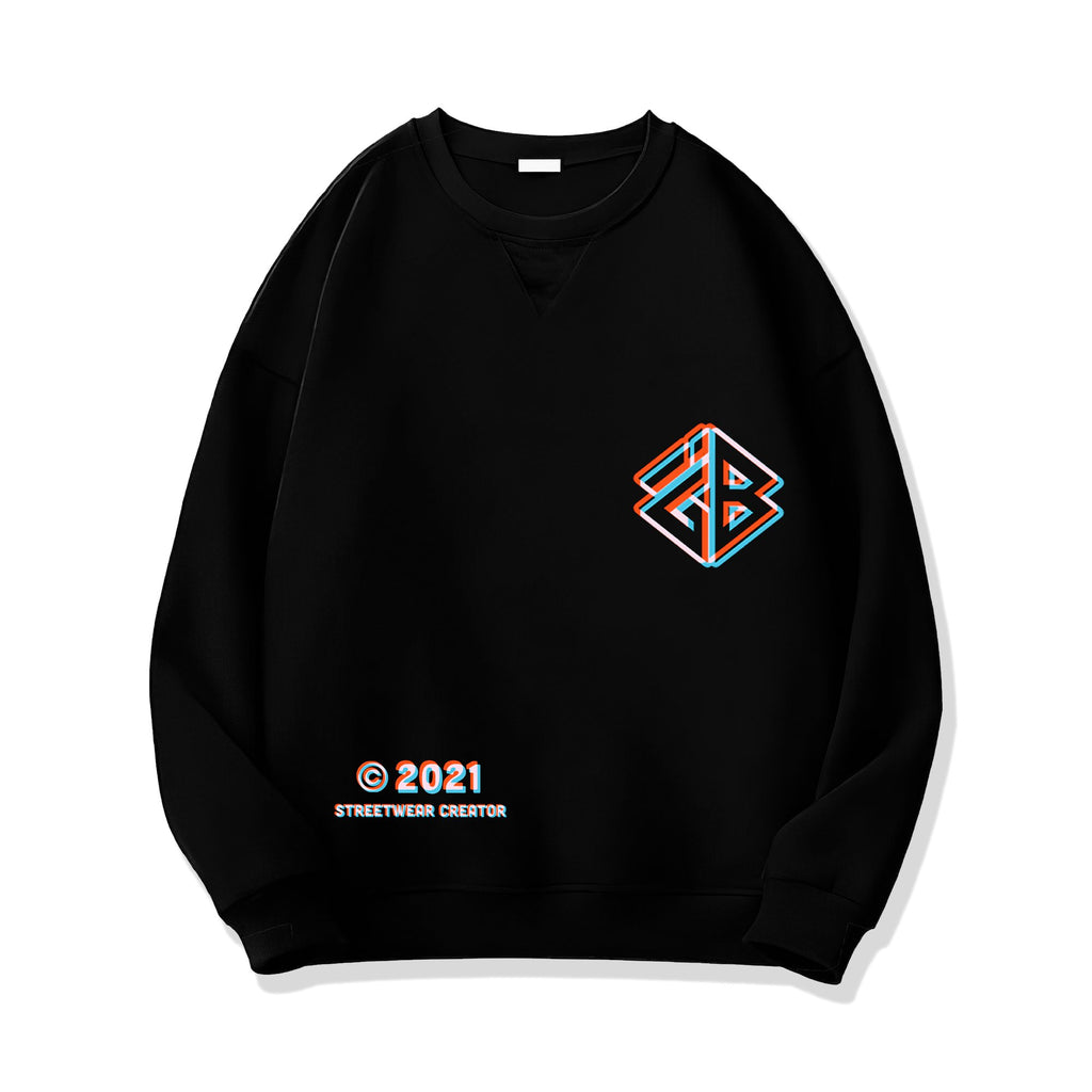 iGB Orange Illusion Sweater (Limited Edition) - iMA God Breaker Local Brand
