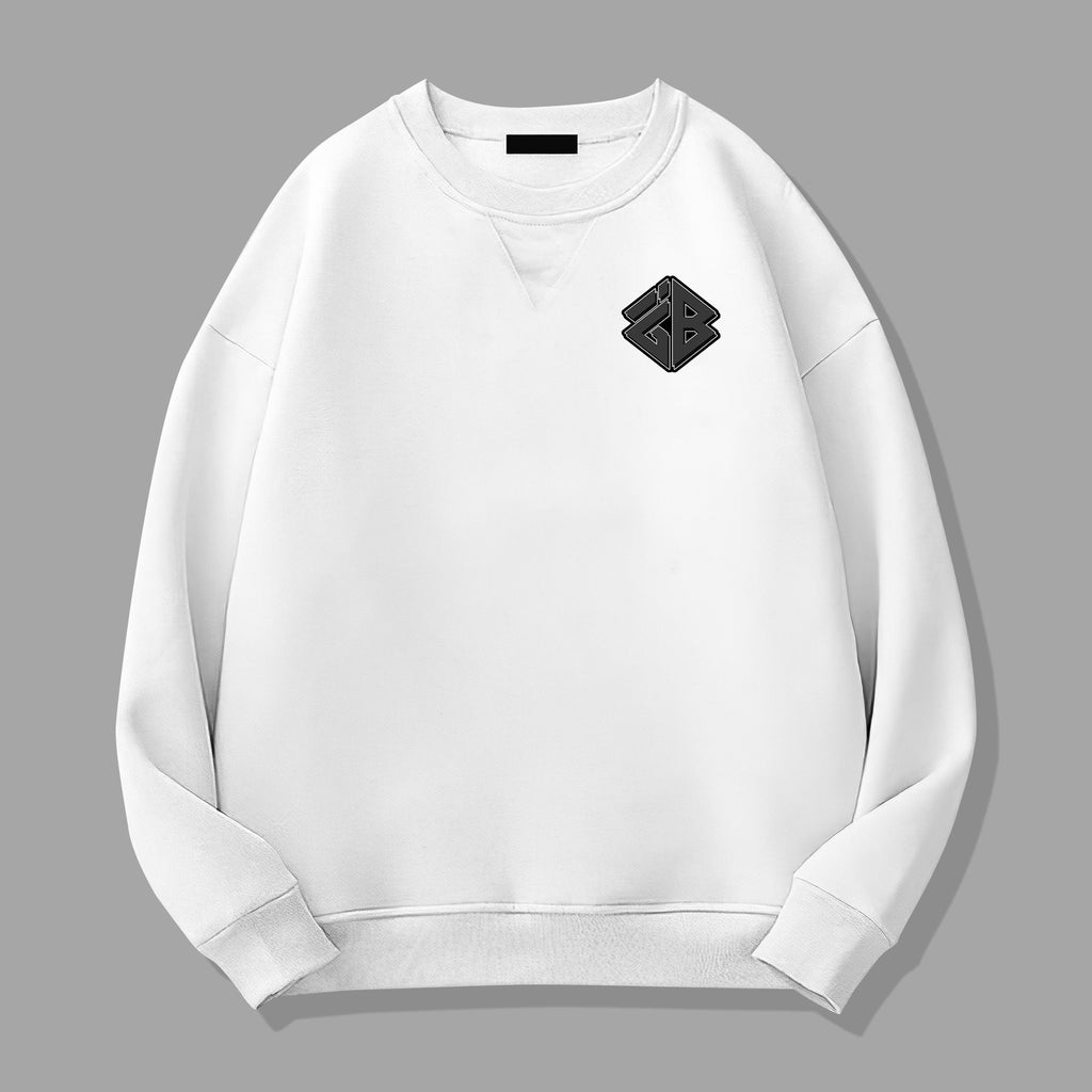 iGB White Graffiti Sweater (Limited Edition) - iMA God Breaker