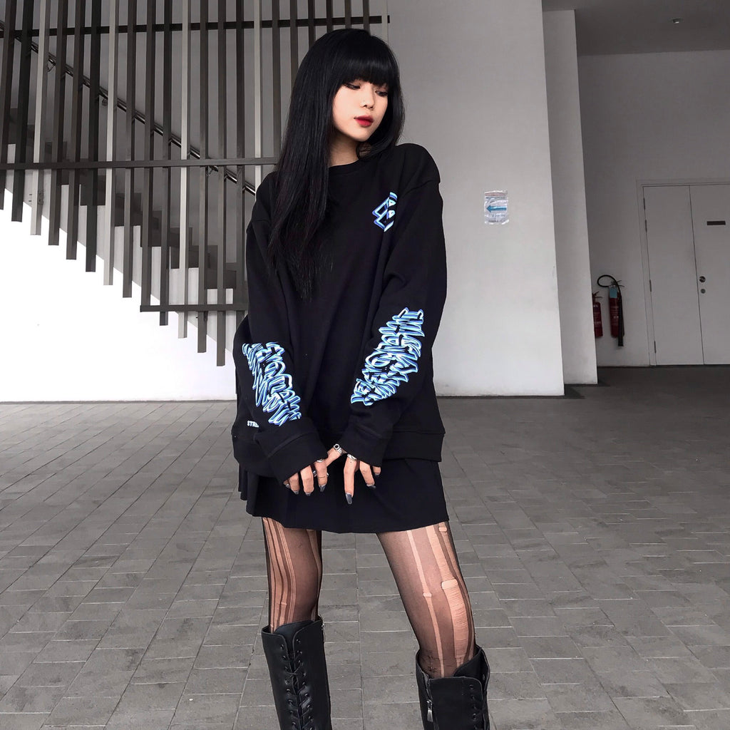 iGB Blue Illusion Sweater (Limited Edition) - iMA God Breaker