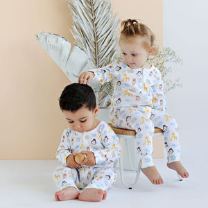 Animal Family - Unisex Growsuit