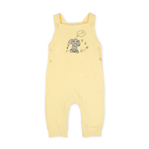 Yellow Romper with Elephant