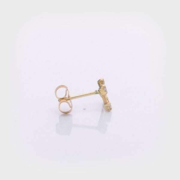 Diamond Mini Kite Earrings