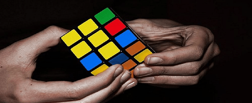 Rubik's Cube en Action