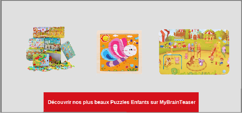 MyBrainTeaser - Collection Puzzles Enfants