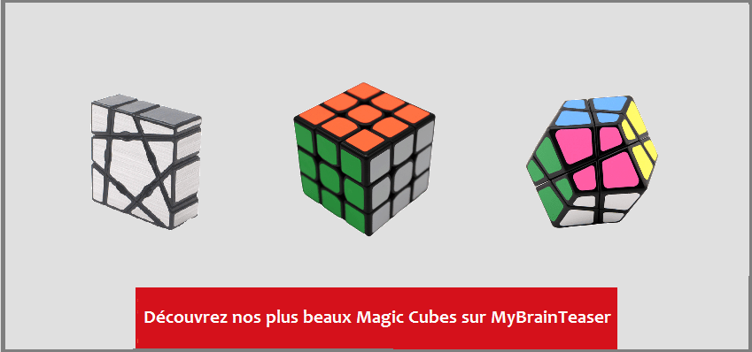 MyBrainTeaser - Lien vers Collection Magic Cubes
