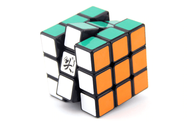 Casse-Tête Magic Cube DaYan GuHong V1 3x3 57 mm Noir