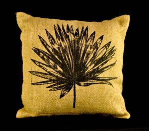 Anahaw jute pillowcase