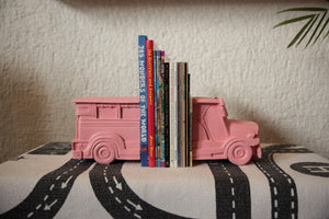 Pink Jeepney bookends