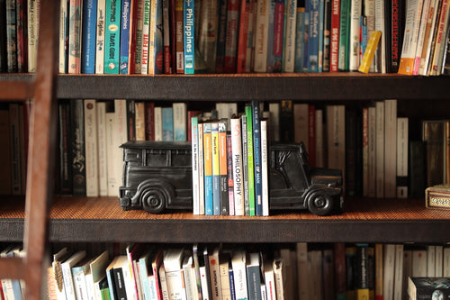 Black Jeepney Bookends