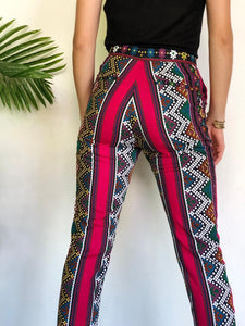 Axelle in fushia one of a kind pants