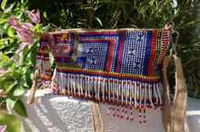 Load image into Gallery viewer, Louise Beaded Jute Bag