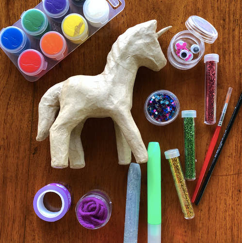 Mini unicorn art kits