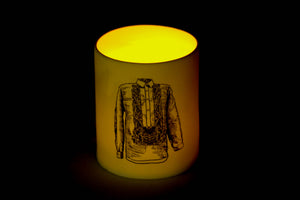 Barong candle holder