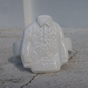 Barong napkin rings holder