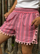 Load image into Gallery viewer, Mademoiselle summer shorts in pink