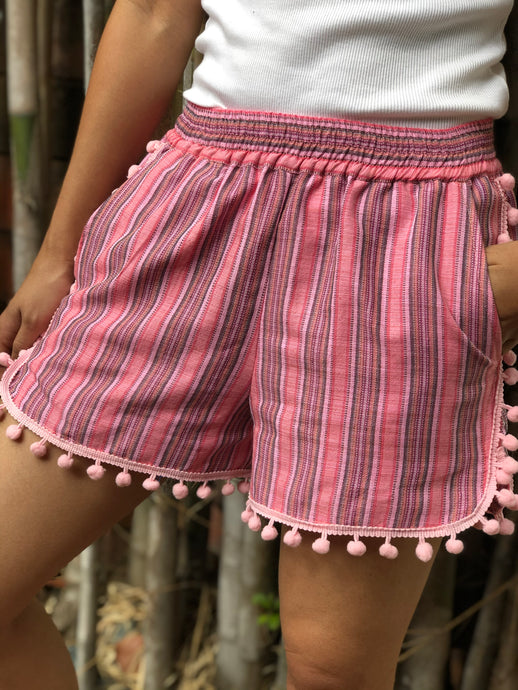 Mademoiselle summer shorts in pink