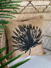 Load image into Gallery viewer, Anahaw jute pillowcase
