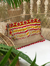 Load image into Gallery viewer, Sunny Beaded Jute Bag
