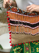 Load image into Gallery viewer, Olivia Beaded Jute Bag