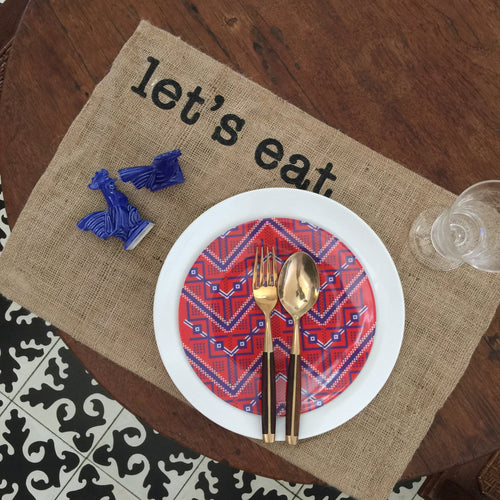 Let's eat placemat