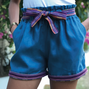 Pag-asa shorts in Blue