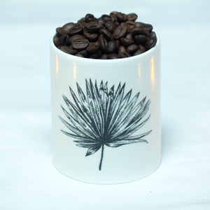 Anahaw candle holder