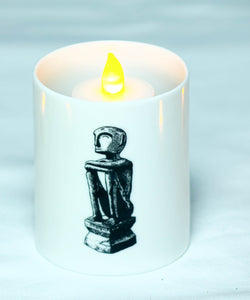 Bulul candle holder