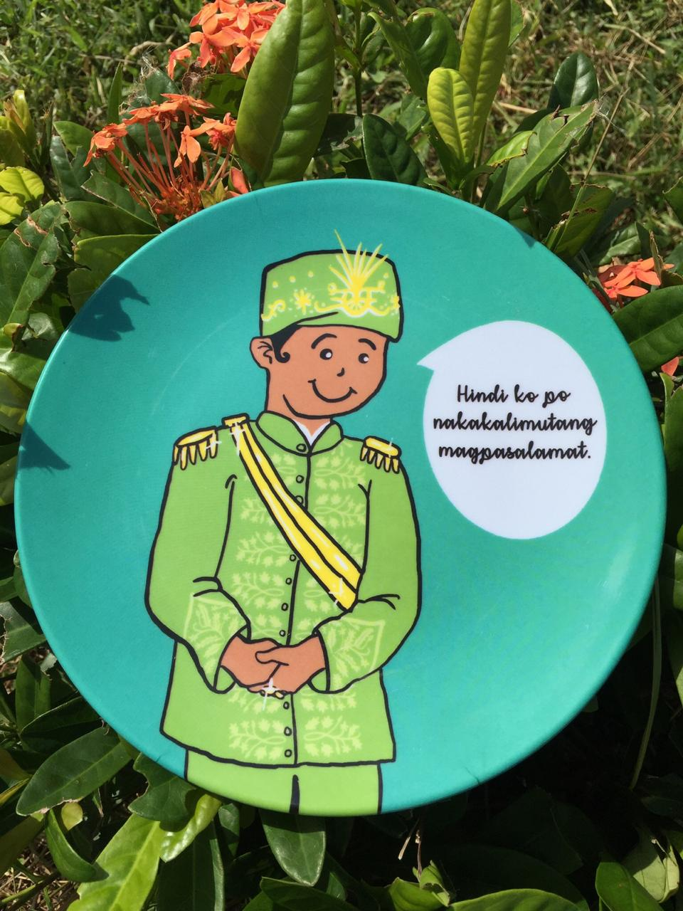 Mint Green Good Values Plates