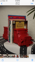Load image into Gallery viewer, Red jeepney bookends