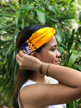 Load image into Gallery viewer, Bianca in orange headband L