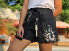 Load image into Gallery viewer, Black coral shorts