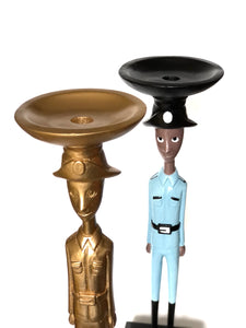 Gurdia Sibil candle holder in uniform