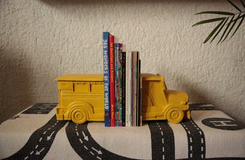Yellow jeepney bookends