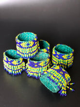 Load image into Gallery viewer, Beaded banig napkin rings