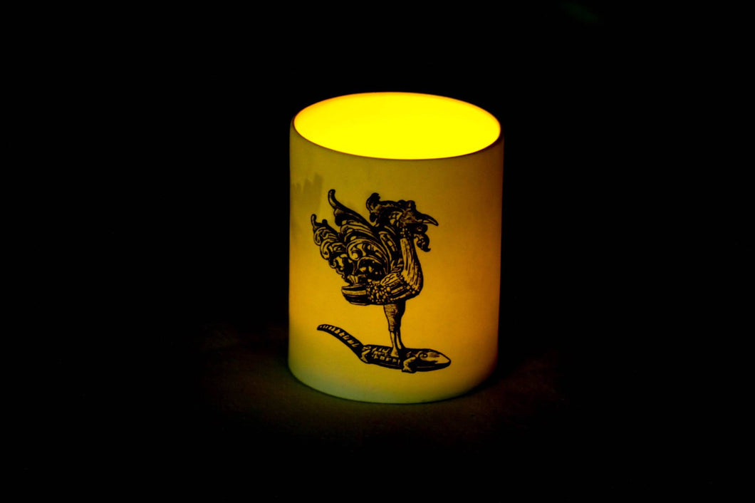 Sarimanok candle holder