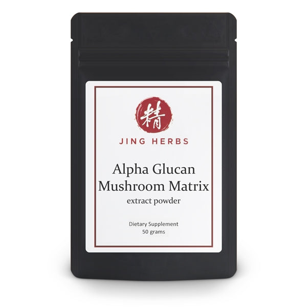 Alpha Glucan Mushroom Matrix extract powder 50 grams - JingHerbs