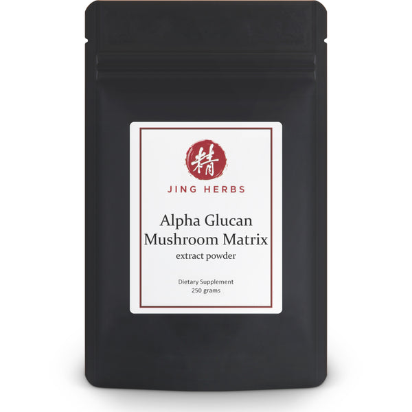 Alpha Glucan Mushroom Matrix extract powder 250g - JingHerbs