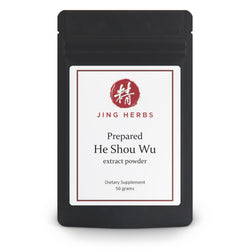 He Shou Wu extract powder 50 grams - JingHerbs