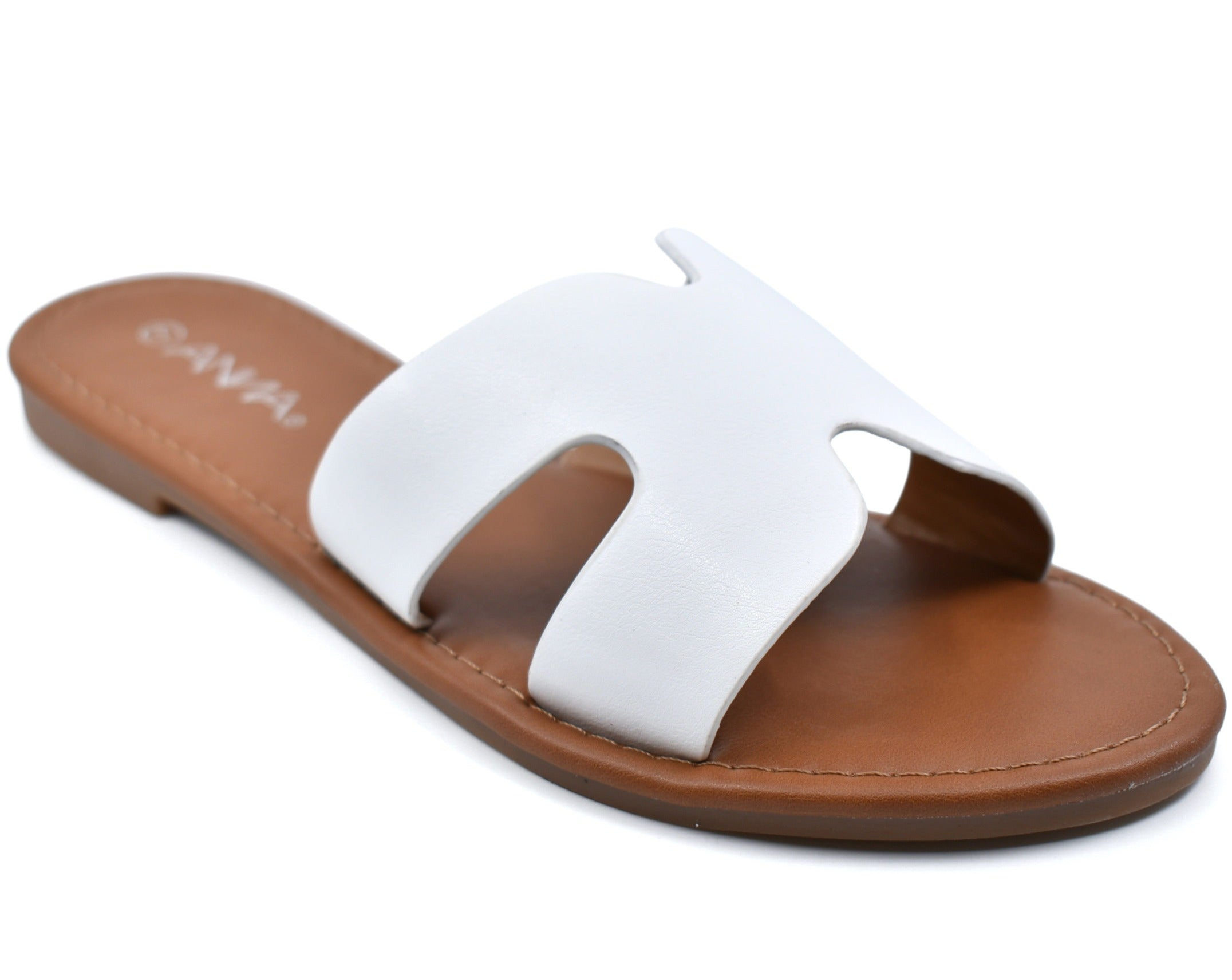 Rise-1 Round Open Toe X H Slide Sandals