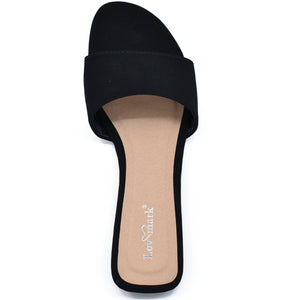 Pico Round Open Toe Slide Sandals