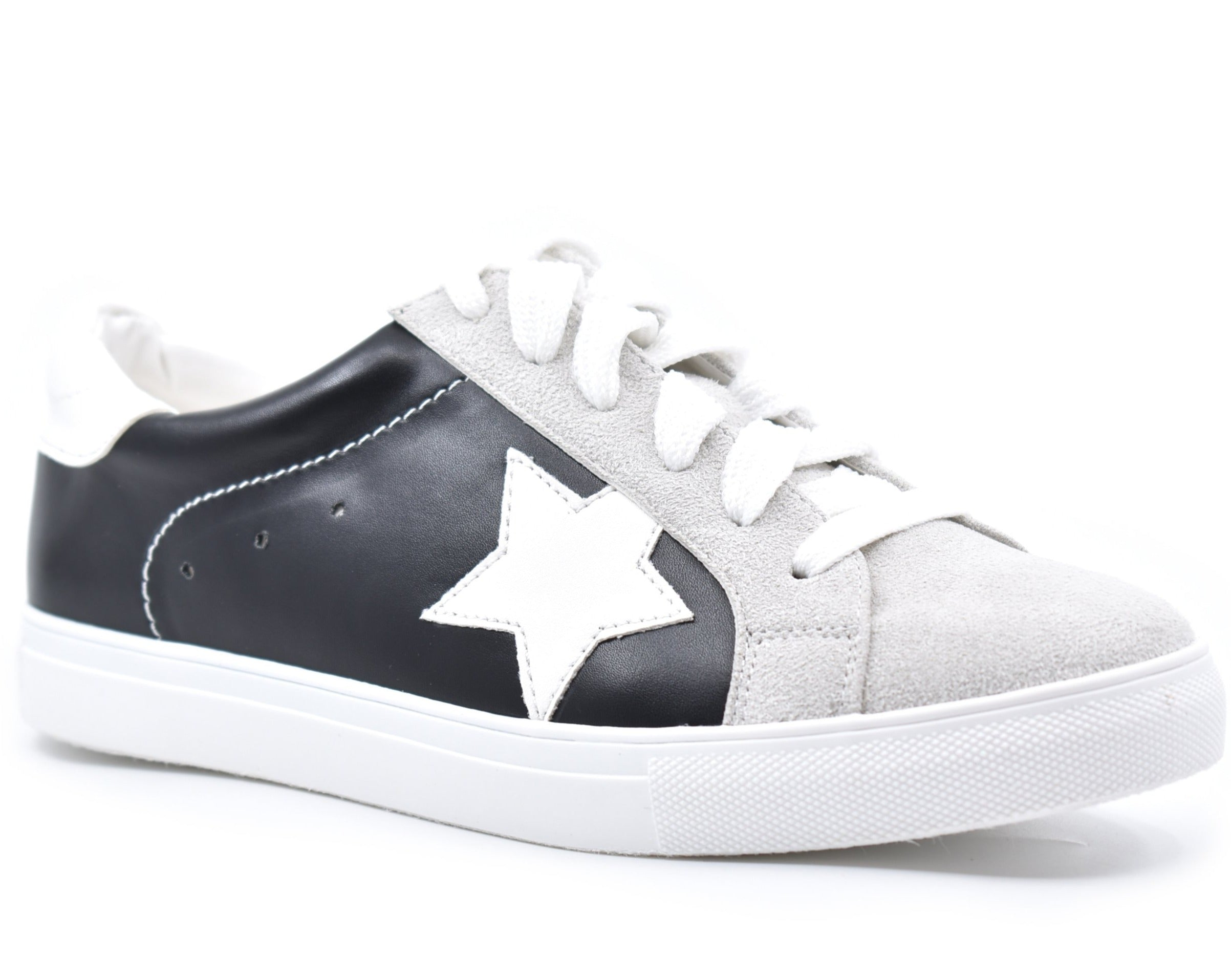 Star-01 Low Top Lace Up Sneakers