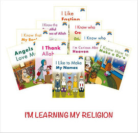 I'm Learning My Religion-Dinimi Oğreniyorum (10 books)