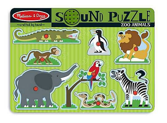 Zoo Animals Sound Puzzle 727